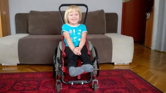Zdjęcie opisu zbiórki Wózek dla Emilki