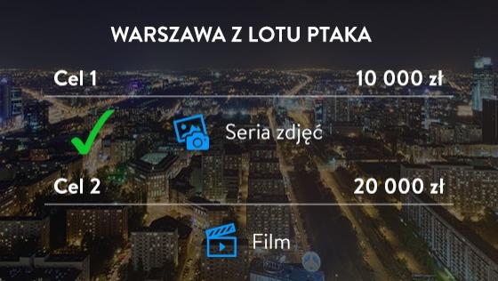 Zdjęcie opisu zbiórki Warszawa z lotu ptaka