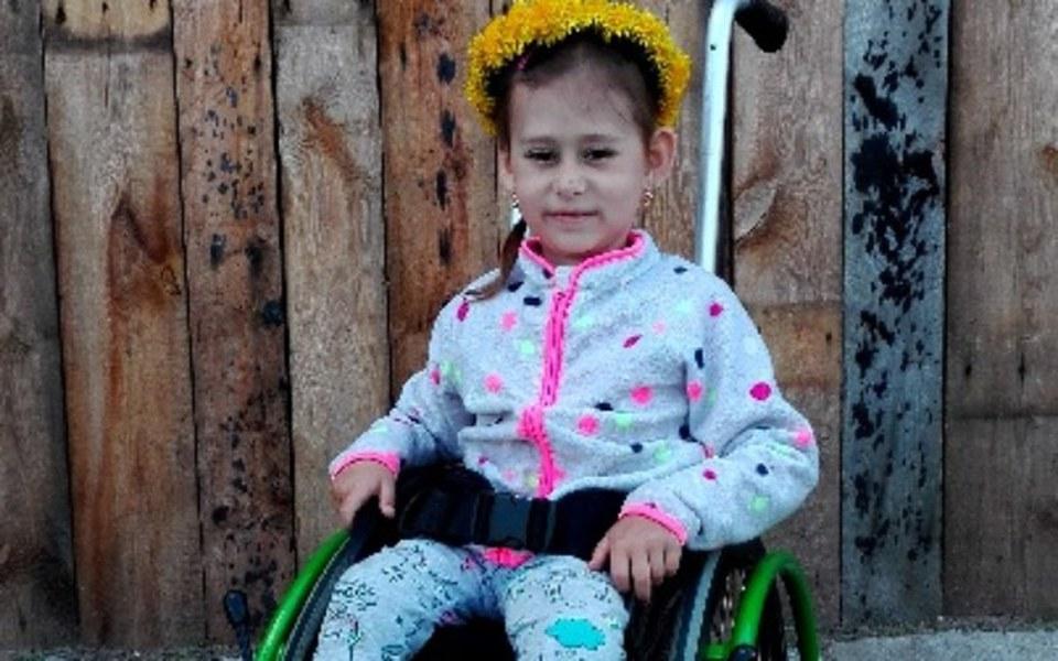 Zbiórka 6-letnia Amelia marzy,by chodzić - zdjęcie główne