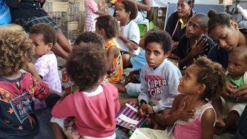 Zbiórka Szkoła św. Filomeny w Papui N.G. - miniaturka zdjęcia