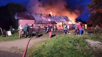 Zbiórka Pomóżmy rodzinie po pożarze. - miniaturka zdjęcia