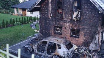 Zbiórka Odbudowa podpalonego domu - miniaturka zdjęcia