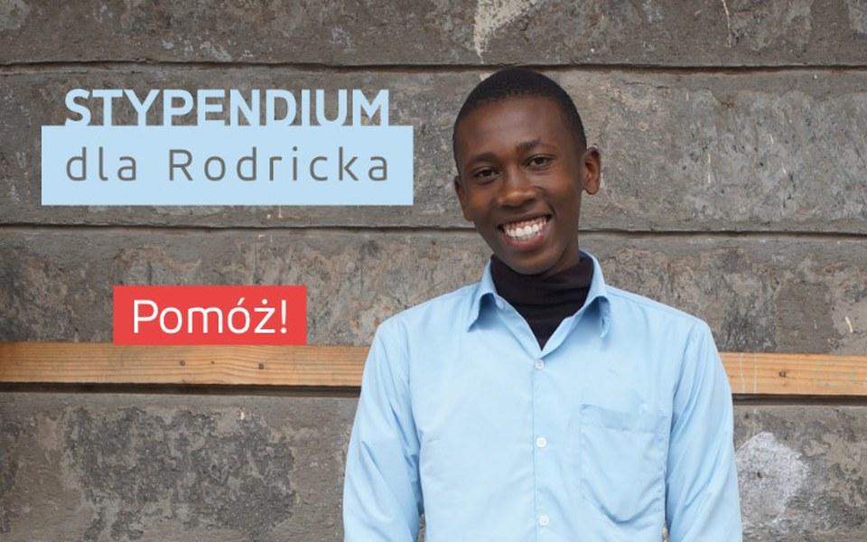 Zbiórka Stypendium dla Rodricka - zdjęcie główne