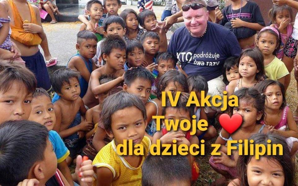 Zbiórka Nasze serce dla dzieci z Filipin - zdjęcie główne