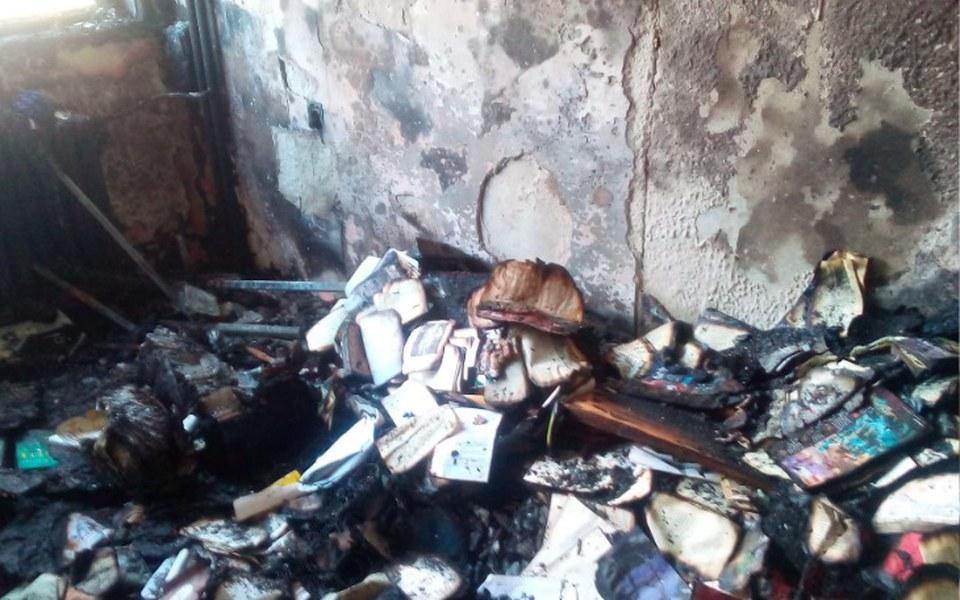 Zbiórka Przez pożar stracili wszystko - zdjęcie główne