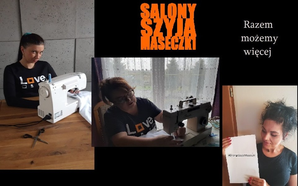 Zbiórka Salony Szyją Maseczki - zdjęcie główne
