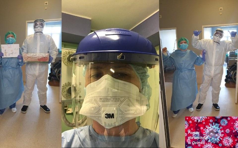 Zbiórka POMÓŻMY szpitalowi w OZIMKU - zdjęcie główne