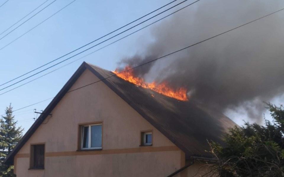 Zbiórka Pożar dachu u sąsiada  - zdjęcie główne