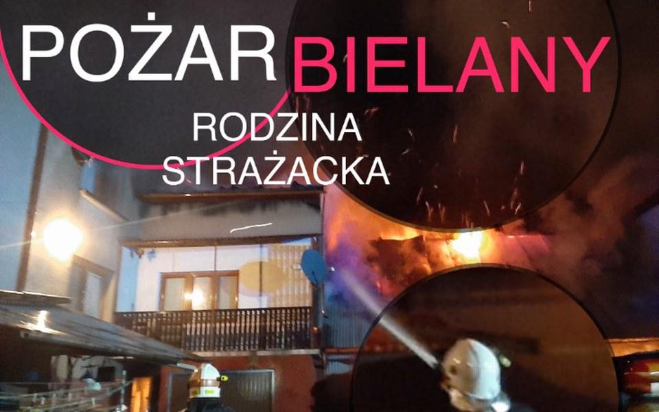 Zbiórka BIELANY POŻAR Rodzin Strażackich - zdjęcie główne