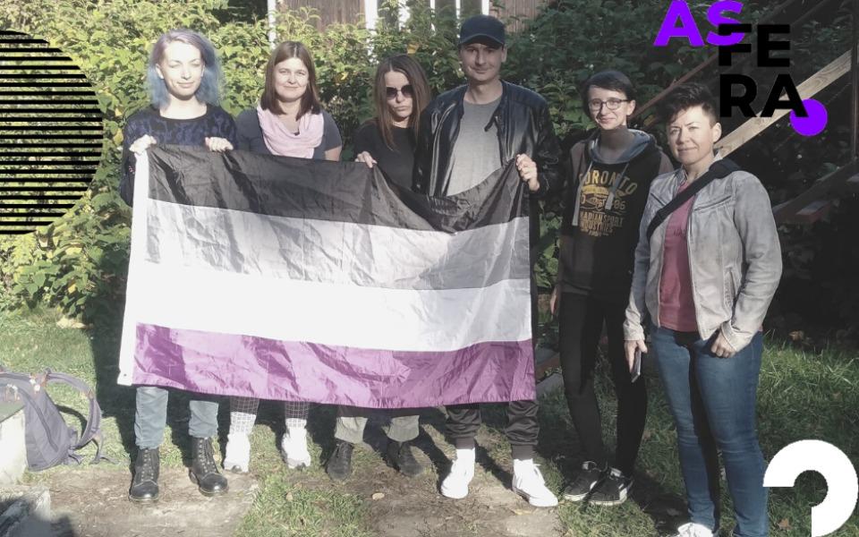 Zbiórka Aseksualni - kampania społeczna - zdjęcie główne