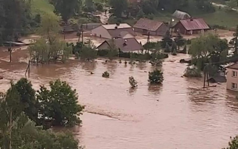 Zbiórka Pomoc po powodzi dla 2 RODZIN - zdjęcie główne