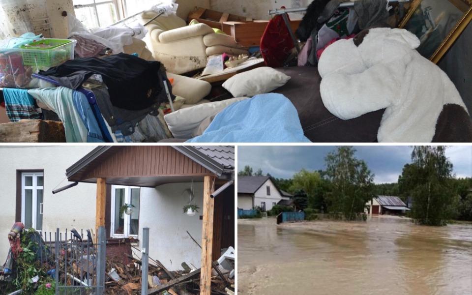 Zbiórka Powódź zniszczyła dom. Pomóżmy - zdjęcie główne