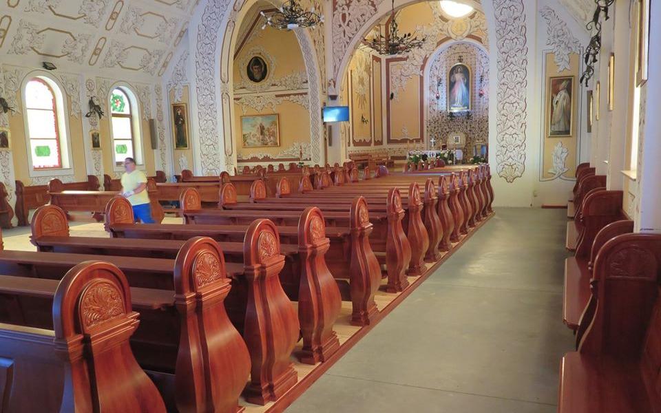 Zbiórka Ławki do kościoła. - zdjęcie główne