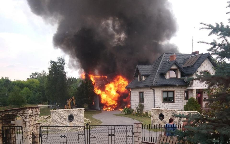 Zbiórka Leczenie dla rodziny po pożarze - zdjęcie główne