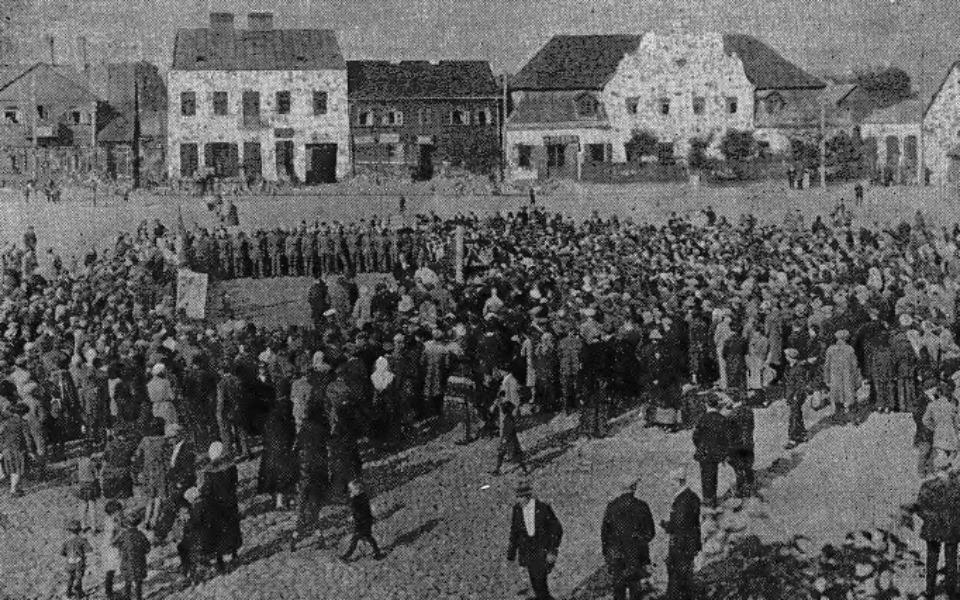 Zbiórka Węgrów - tłumaczenie z jidysz - zdjęcie główne