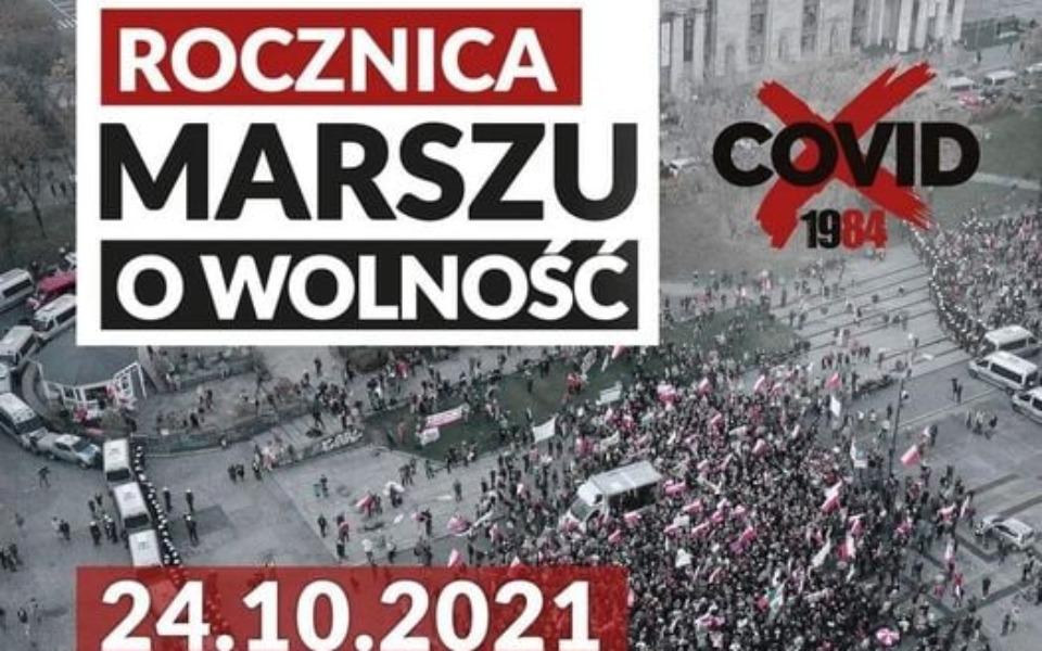 Zbiórka Organizacja Marszów o Wolność - zdjęcie główne