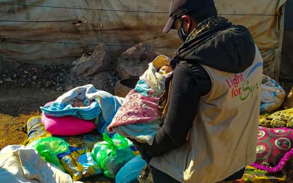 Zbiórka Dla dzieci w Syrii. - zdjęcie główne