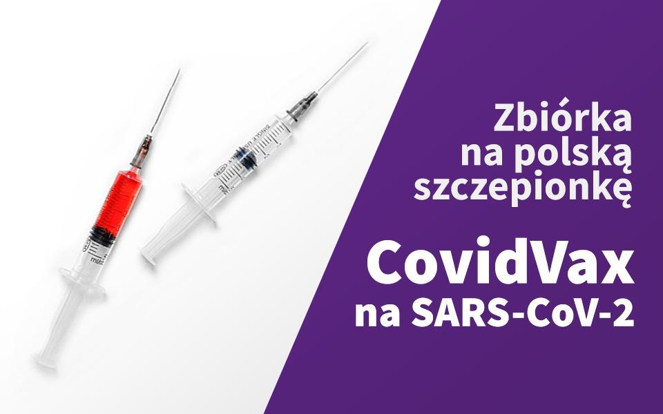 Zbiórka Polska szczepionka na SARS-CoV-2 - zdjęcie główne