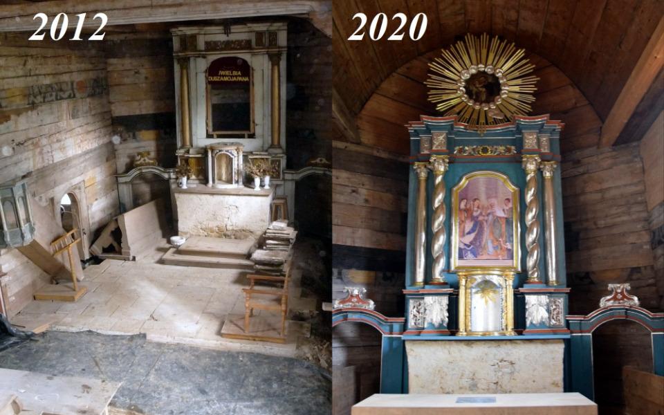 Zbiórka Renowacja Kościółka w Tłuczani - zdjęcie główne
