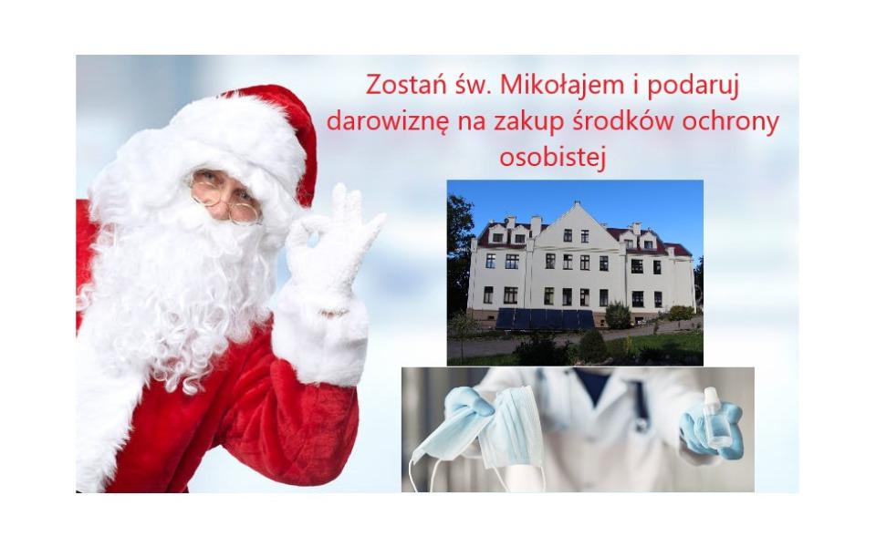 Zbiórka Bądź św. Mikołajem dla hospicjum - zdjęcie główne