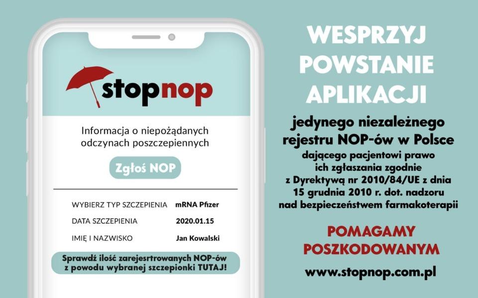 Zbiórka Aplikacja do zbierania NOP - zdjęcie główne