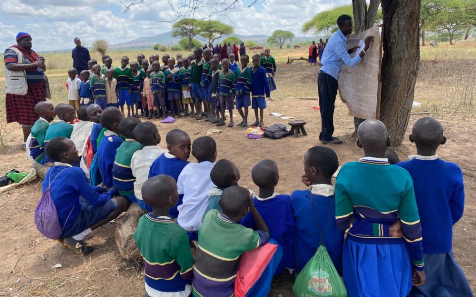 Zbiórka Budujemy szkołę w Afryce - zdjęcie główne