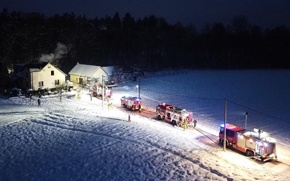Zbiórka Odbudowa domu młodego strażaka. - zdjęcie główne