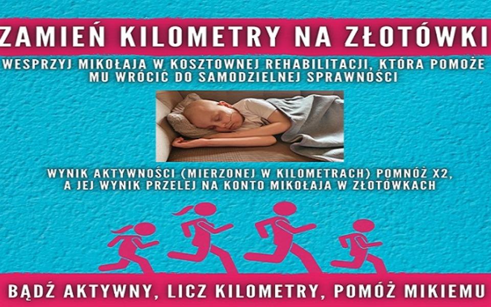 Zbiórka Mikołaj Nowak rehabilitacja - zdjęcie główne