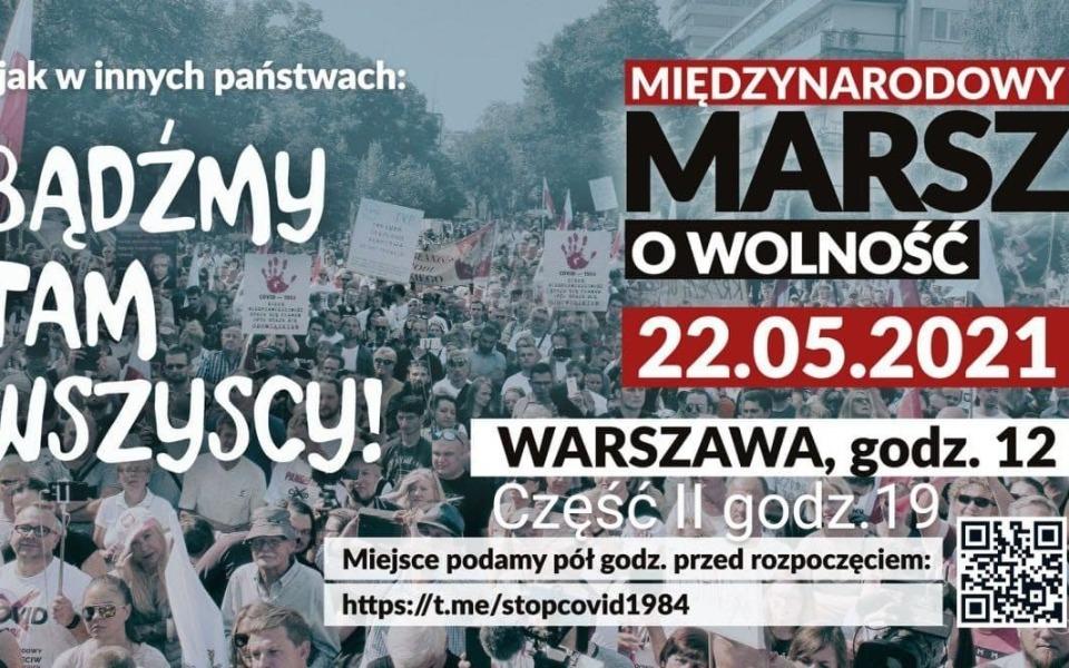 Zbiórka Organizacja Marszu o Wolność - zdjęcie główne