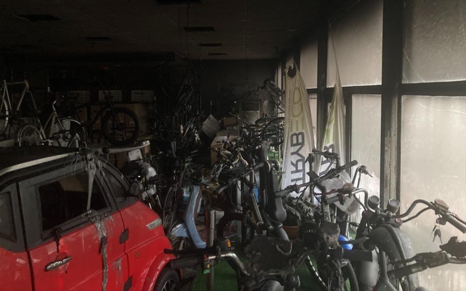 Zbiórka Pożar zniszczył miejsce pracy - zdjęcie główne