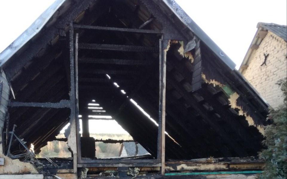 Zbiórka na odbudowę spalonego domu - zdjęcie główne