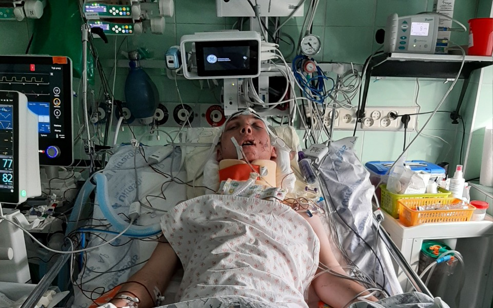 Zbiórka Rehabilitacja Kuby po wypadku - zdjęcie główne