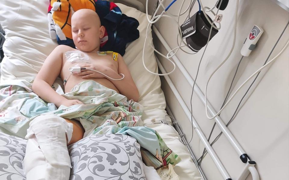 Zbiórka Leczenie Filipa rak kości piszcz - zdjęcie główne