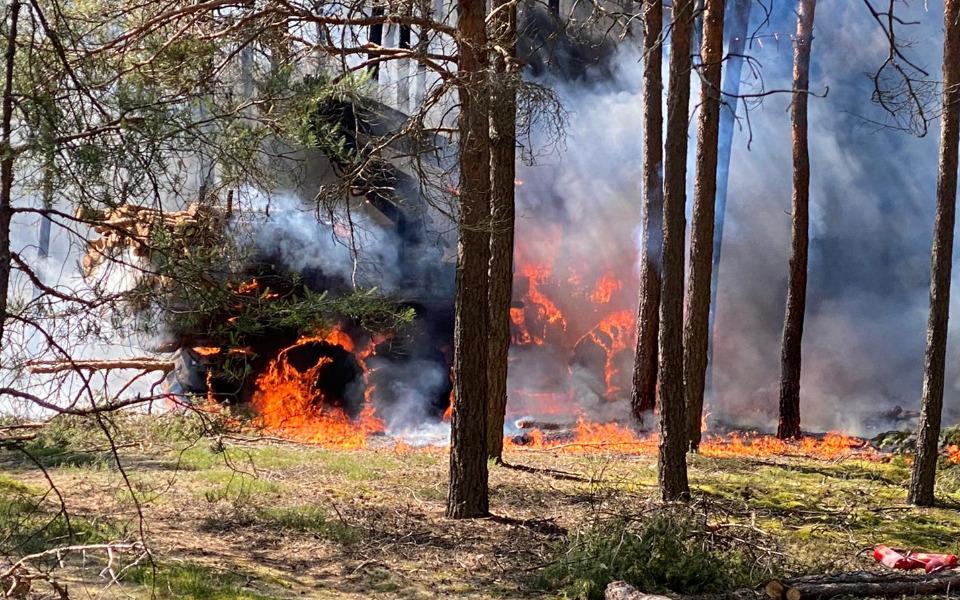 Zbiórka Pomoc po pożarze w Dębogórze - zdjęcie główne