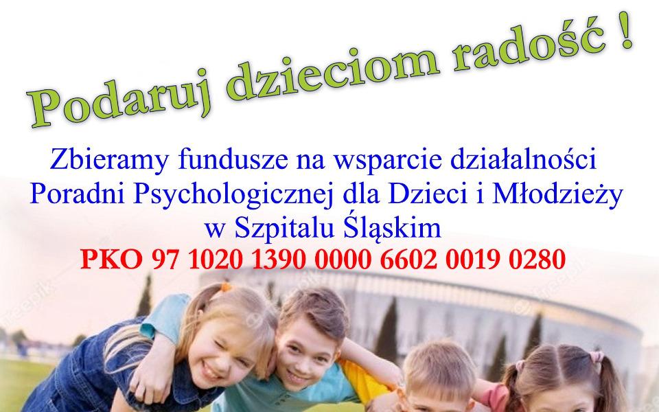 Zbiórka Dbajmy o dzieci i młodzież - zdjęcie główne