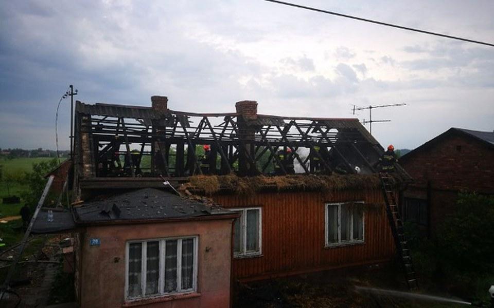 Zbiórka Poszkodowanym w pożarze domu. - zdjęcie główne