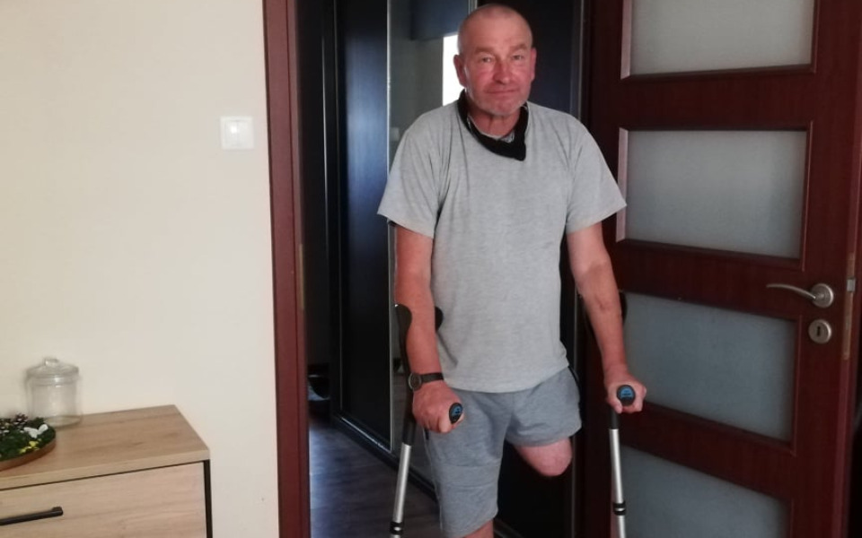 Zbiórka Proteza udowa i rehabilitacja - zdjęcie główne