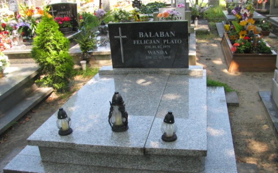Zbiórka Opłata grobu płk. Bałabana - zdjęcie główne