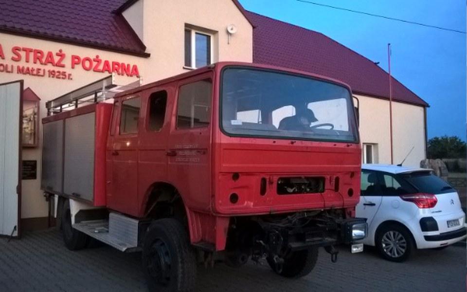 Zbiórka Remont wozu strażackiego GBA - zdjęcie główne