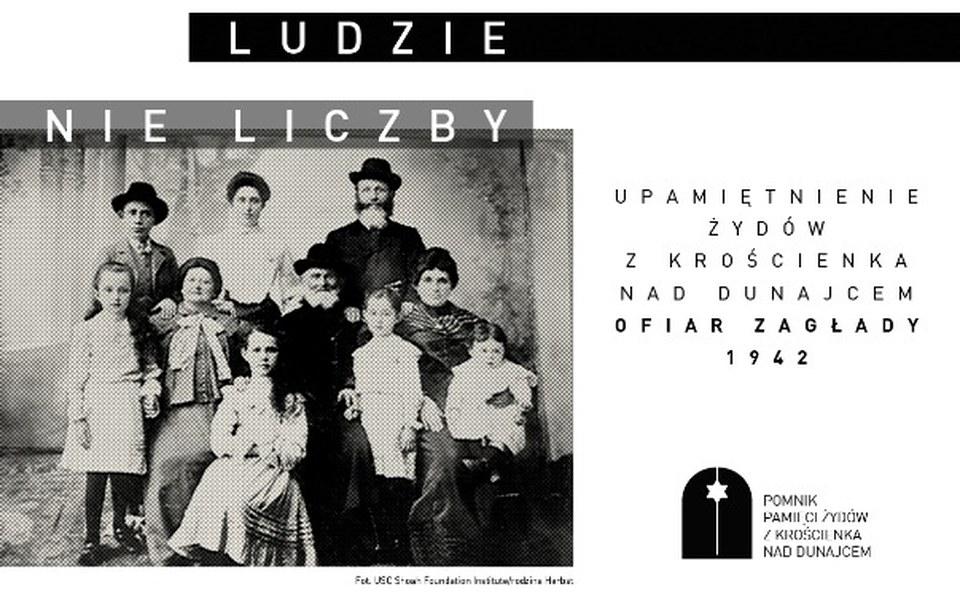 Zbiórka Pomnik Żydów Krościenko n/Dunajc - zdjęcie główne