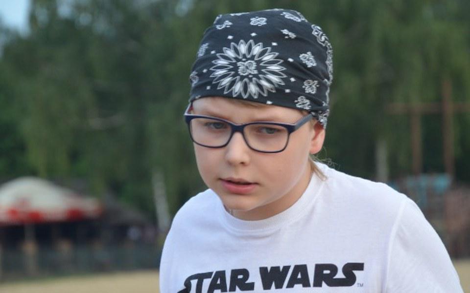 Zbiórka 10-letni Olek walczy z glejakiem - zdjęcie główne