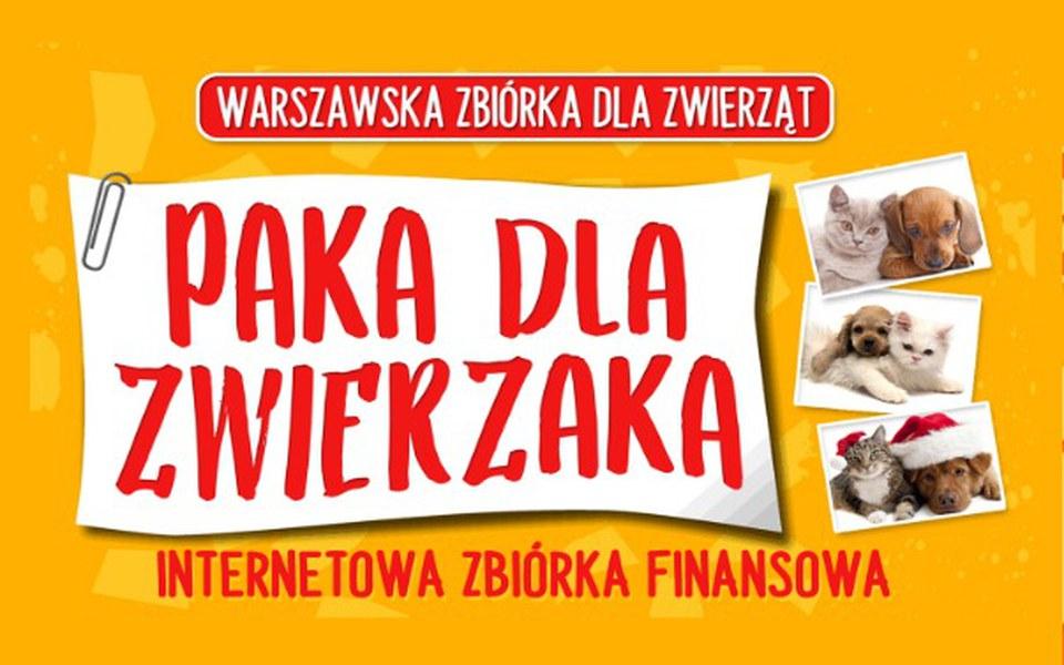 """Zbiórka Zbiórka """"Paka dla zwierzaka"""" - zdjęcie główne"""