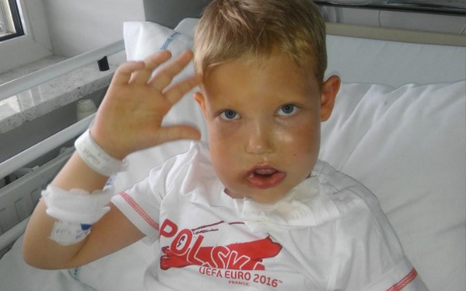 Zbiórka Pomóż Filipowi odzyskać UŚMIECH - zdjęcie główne