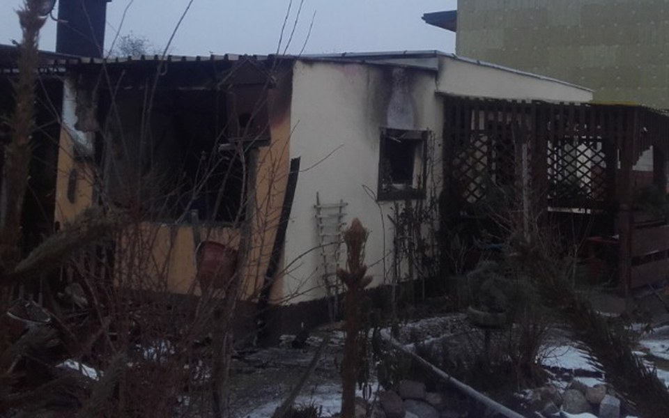 Zbiórka odbudowa domu sąsiada po pożarze - zdjęcie główne