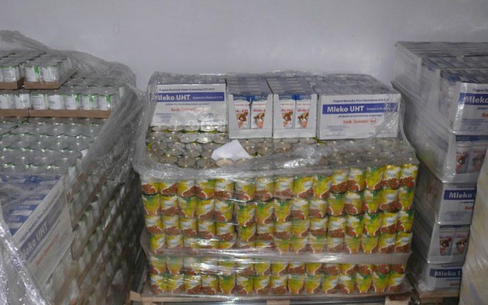 Zbiórka Dowieźć żywność potrzebującym. - zdjęcie główne