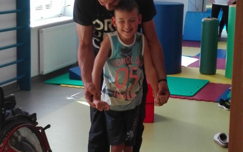 Zbiórka Rehabilitacja syna Oskarka - zdjęcie główne