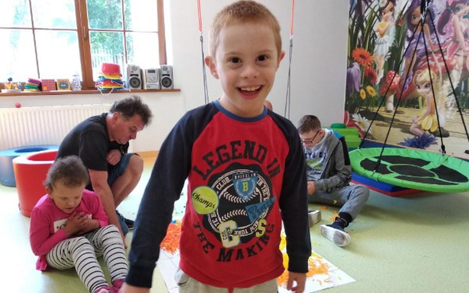 Zbiórka Szkoła dzieci niepełnosprawnych - zdjęcie główne