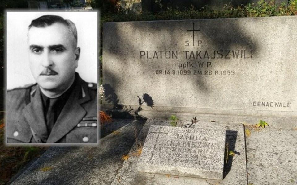Zbiórka Ratowanie grobu oficera z Gruzji - zdjęcie główne