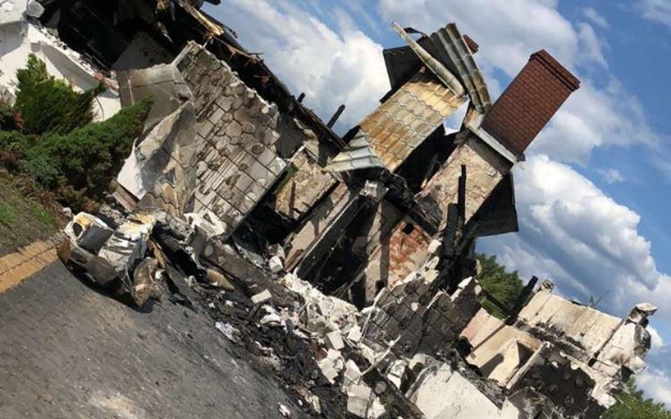 Zbiórka Doszczętnie spalony dom. Pomocy - zdjęcie główne
