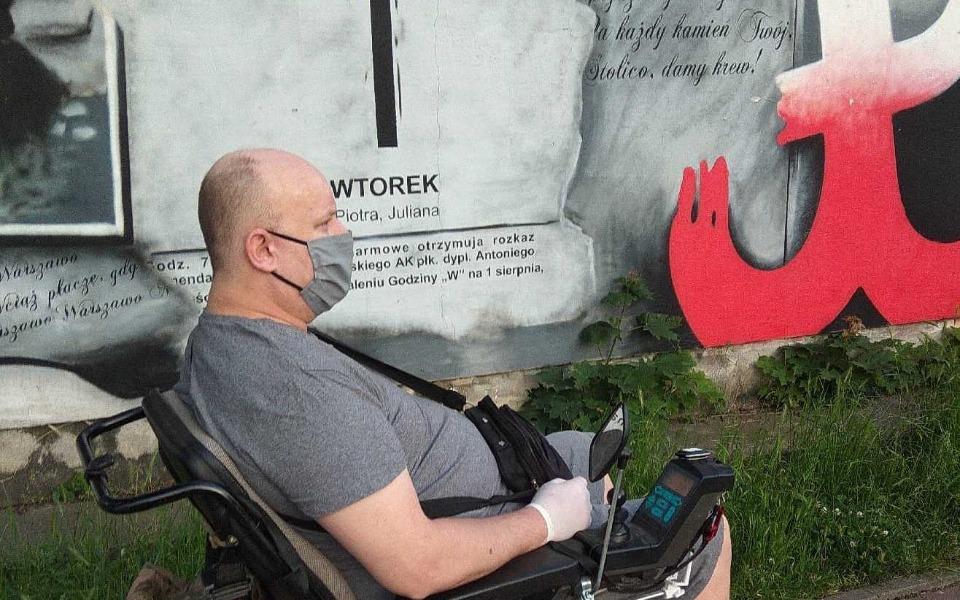 Zbiórka _Elektryczny_wózek_inwalidzki. - zdjęcie główne